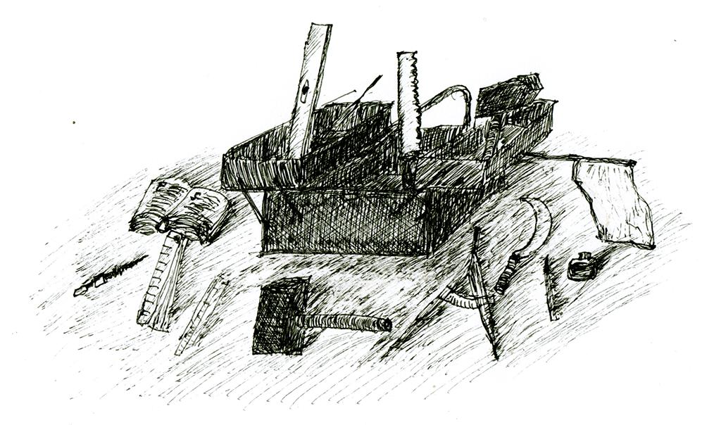 Magister Scherenbergs geistiger Werkzeugkasten